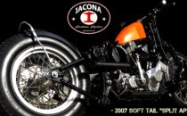 Iacona Custom Cycles Split Apart 2007 Harley Softail